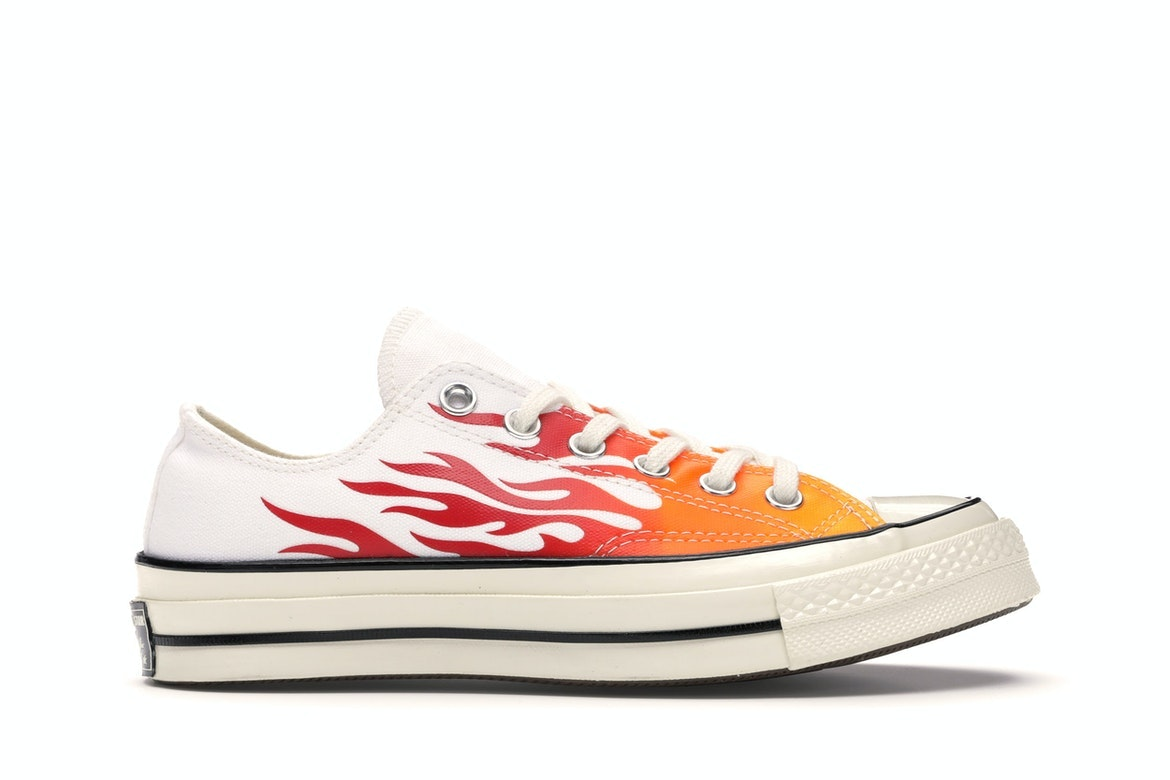 Converse Chuck Taylor All Star 70s Ox Archive Print Flames