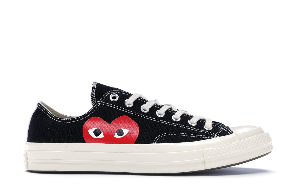 c257e157b1e9 Sell. or Ask. Size 5. View All Bids. Converse Chuck Taylor All-Star 70s Ox Comme  des Garcons PLAY Black