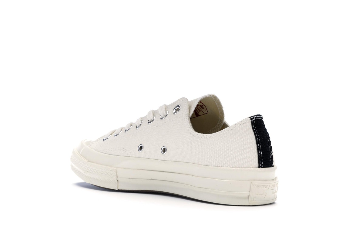 f26e3f40b679 Converse Chuck Taylor All-Star 70s Ox Comme des Garcons PLAY White - 150207C