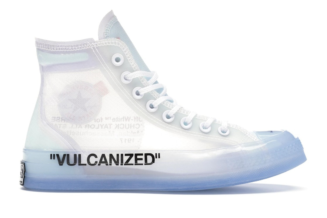 e4b11622563860 Sell. or Ask. Size  9.5. View All Bids. Converse Chuck Taylor All-Star Hi  Off-White