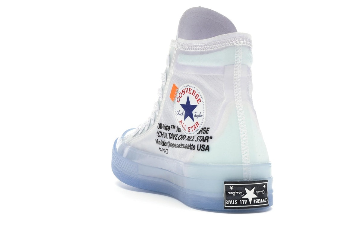 Converse Chuck Taylor All-Star Hi Off-White - 162204C 687aaa1492a