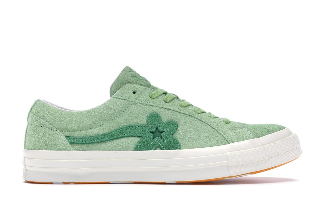 cdaa159c29c20a Sell. or Ask. Size  3.5. View All Bids. Converse One Star Ox Tyler the Creator  Golf Le Fleur Jade Lime