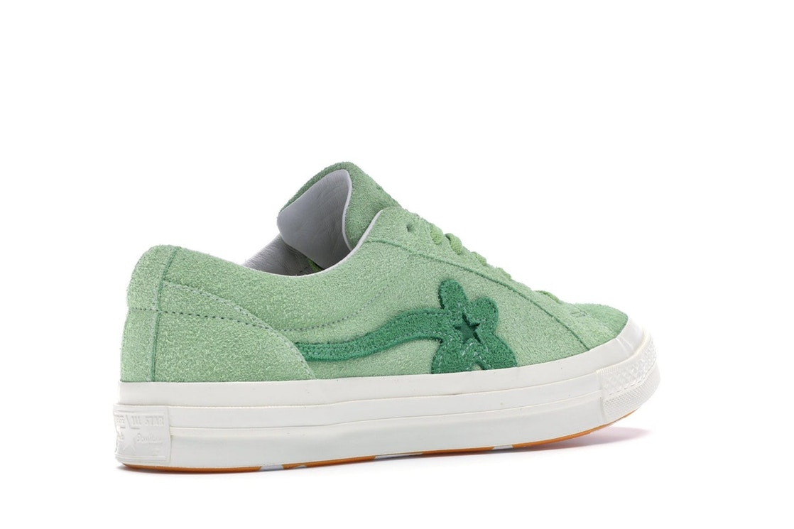 db908f7527d3 Converse One Star Ox Tyler the Creator Golf Le Fleur Jade Lime - 160327C