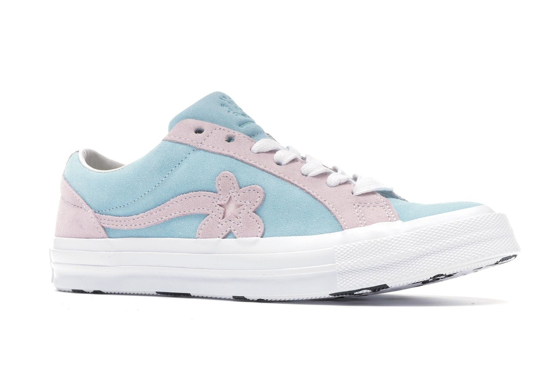 987e87afd0e9c0 Converse One Star Ox Tyler the Creator Golf Le Fleur Light Blue Pink -  162127C