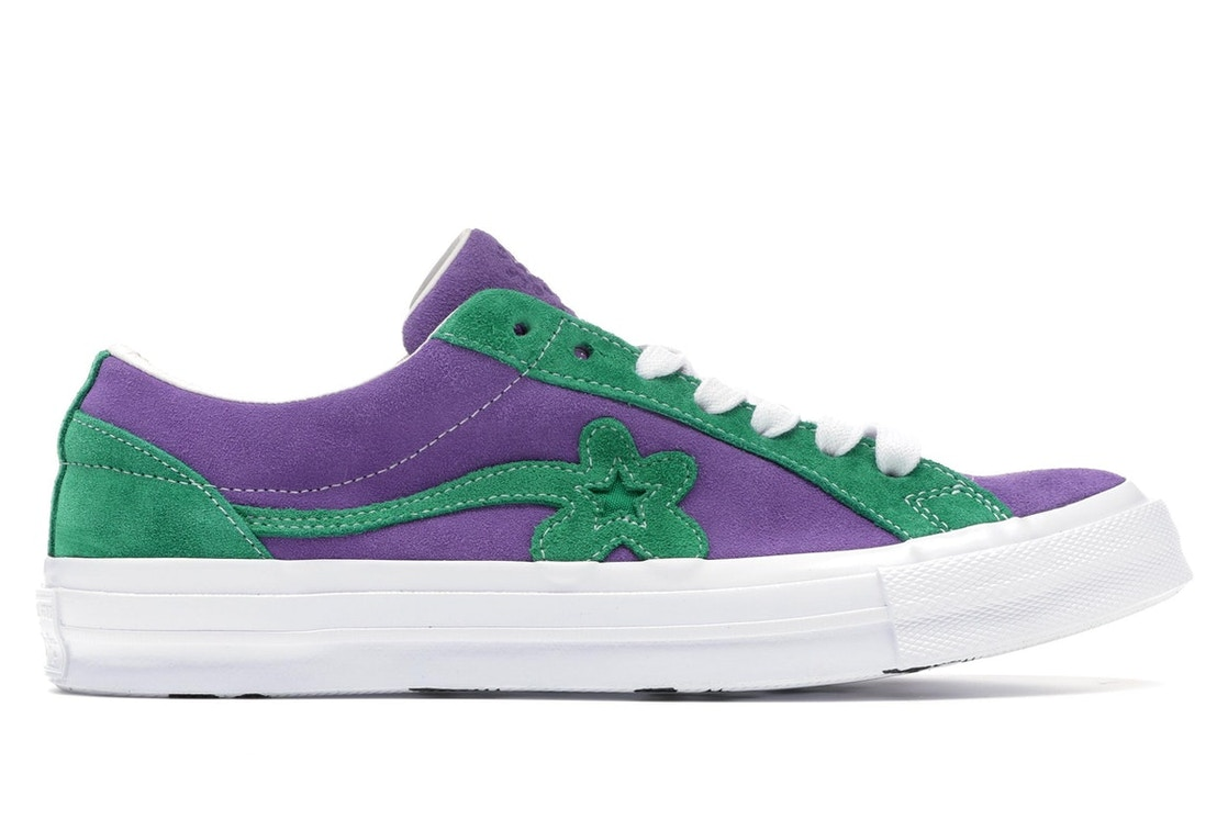 aaa2276782abc7 Sell. or Ask. Size 4. View All Bids. Converse One Star Ox Tyler the Creator Golf  Le Fleur Purple Green