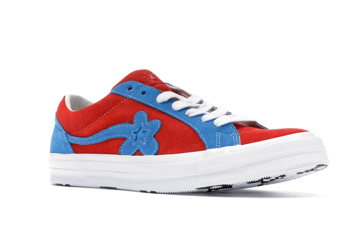 3e302f18f89a Converse One Star Ox Tyler the Creator Golf Le Fleur Red Blue - 162126C