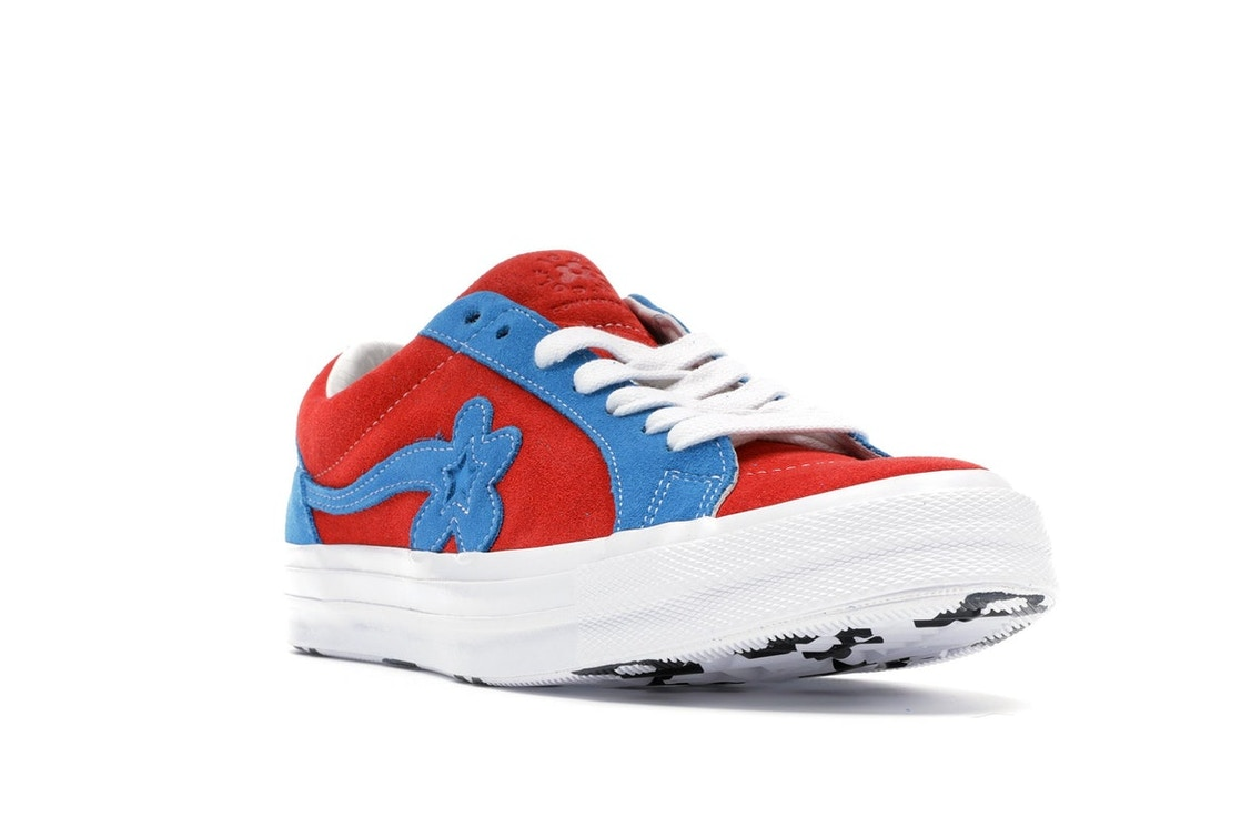 Converse One Star Ox Tyler The Creator Golf Le Fleur Red Blue 162126c