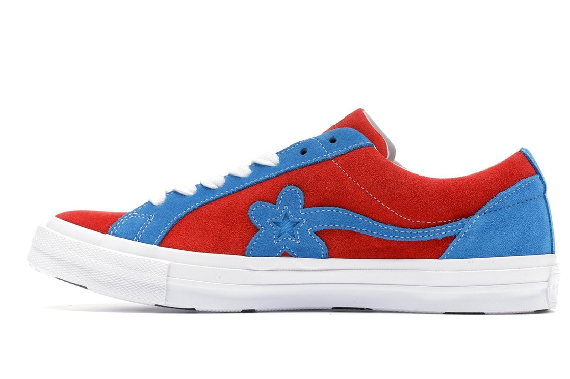 ... Converse One Star Ox Tyler the Creator Golf Le Fleur Red Blu latest  fashion 6c219 97689  Converse x Tyler ... b8044067c