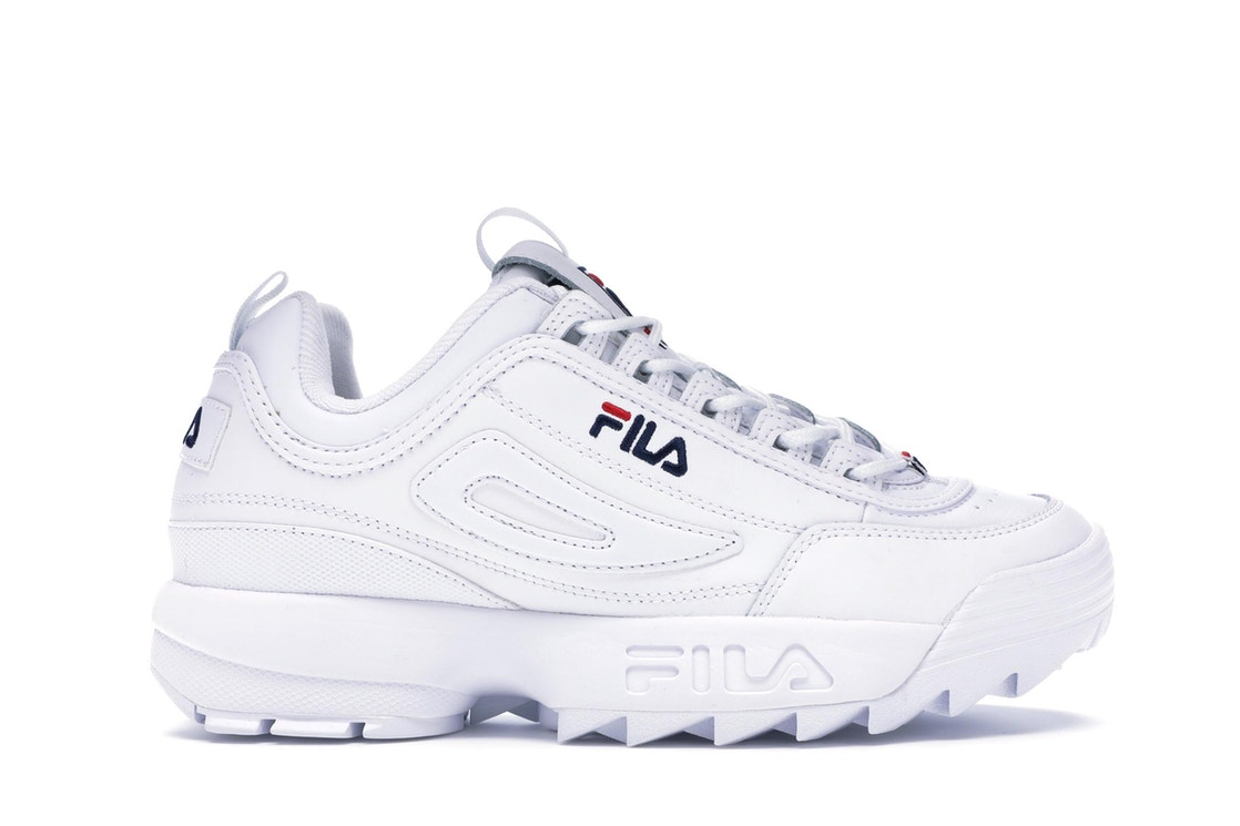 Fila Disruptor 2 White Navy Red (W)