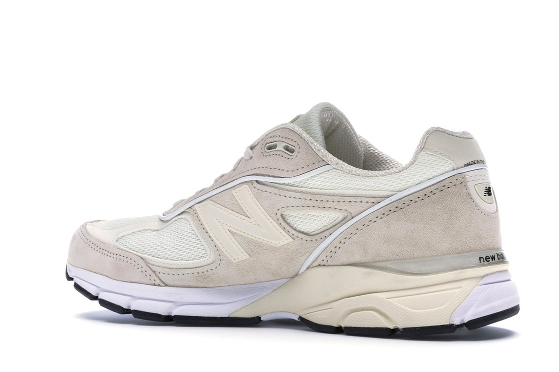 separation shoes 7ad51 40e6b New Balance 990v4 Stussy Cream