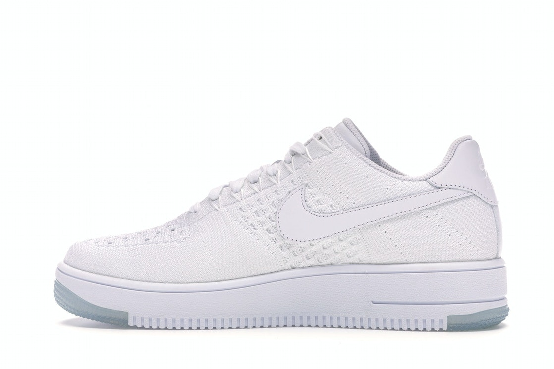 watch b536f e0de0 Nike Af1 Ultra Flyknit Low White/White-Ice