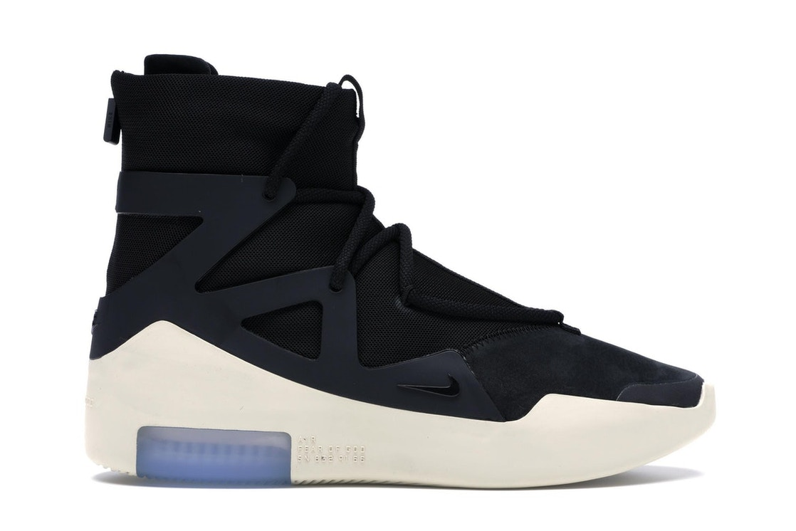 8f1f49ba793031 Air Fear Of God 1 Black - AR4237-001