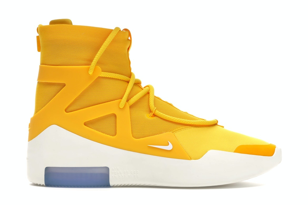 Air Fear Of God 1 Yellow