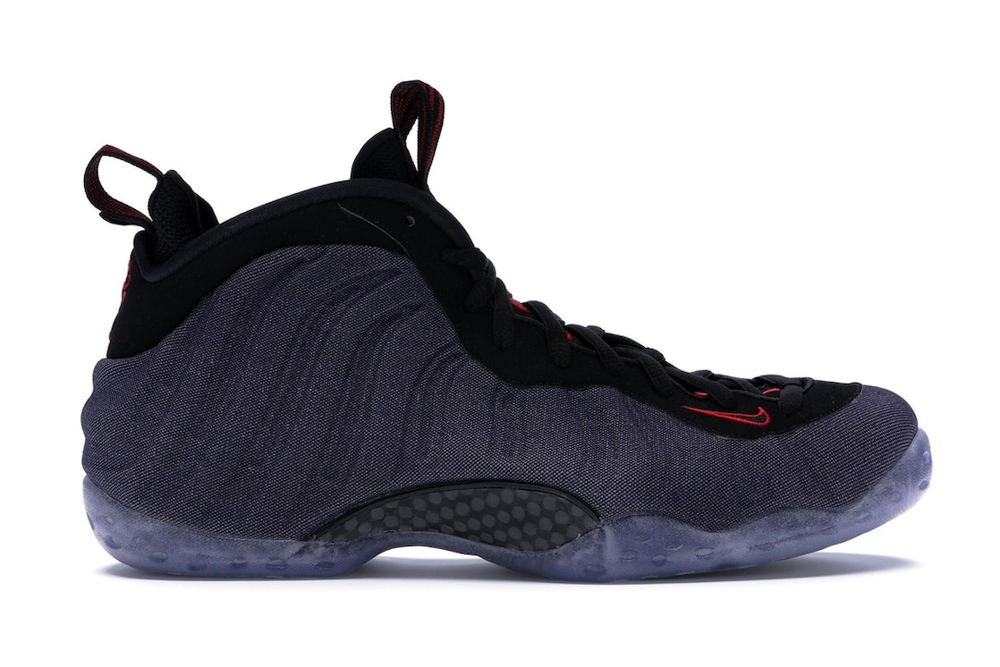 meet 3e17b 44229 Air Foamposite One Denim