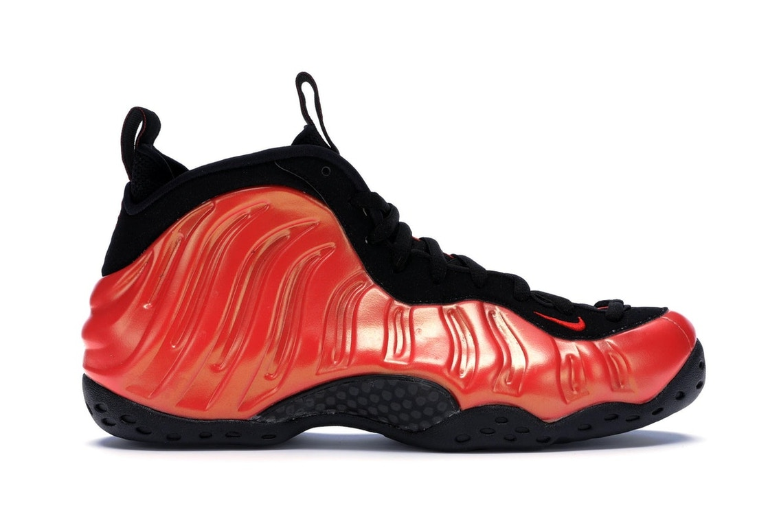 half off f982d 0be8b Air Foamposite One Habanero Red - 314996-603