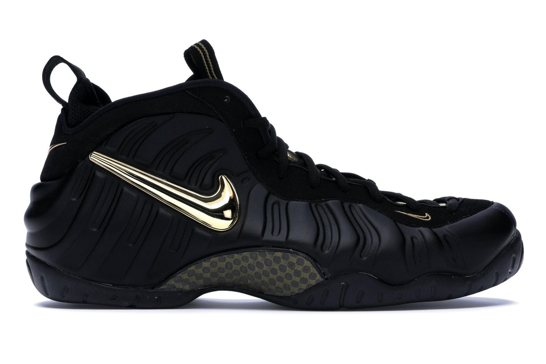 buy popular e32be 0fe78 Air Foamposite Pro Black Metallic Gold - 624041-009