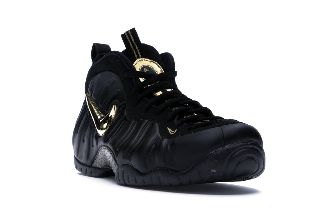 pretty nice ee37a ed252 Air Foamposite Pro Black Metallic Gold