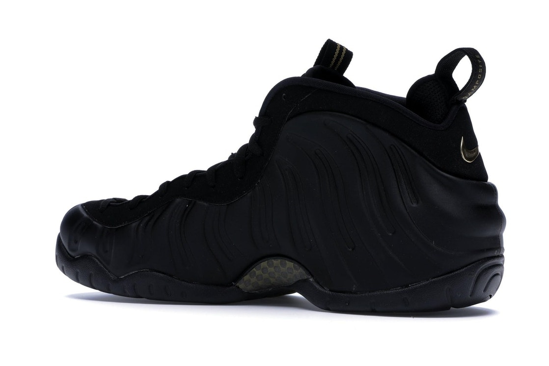 buy popular 74855 0e9c2 Air Foamposite Pro Black Metallic Gold - 624041-009