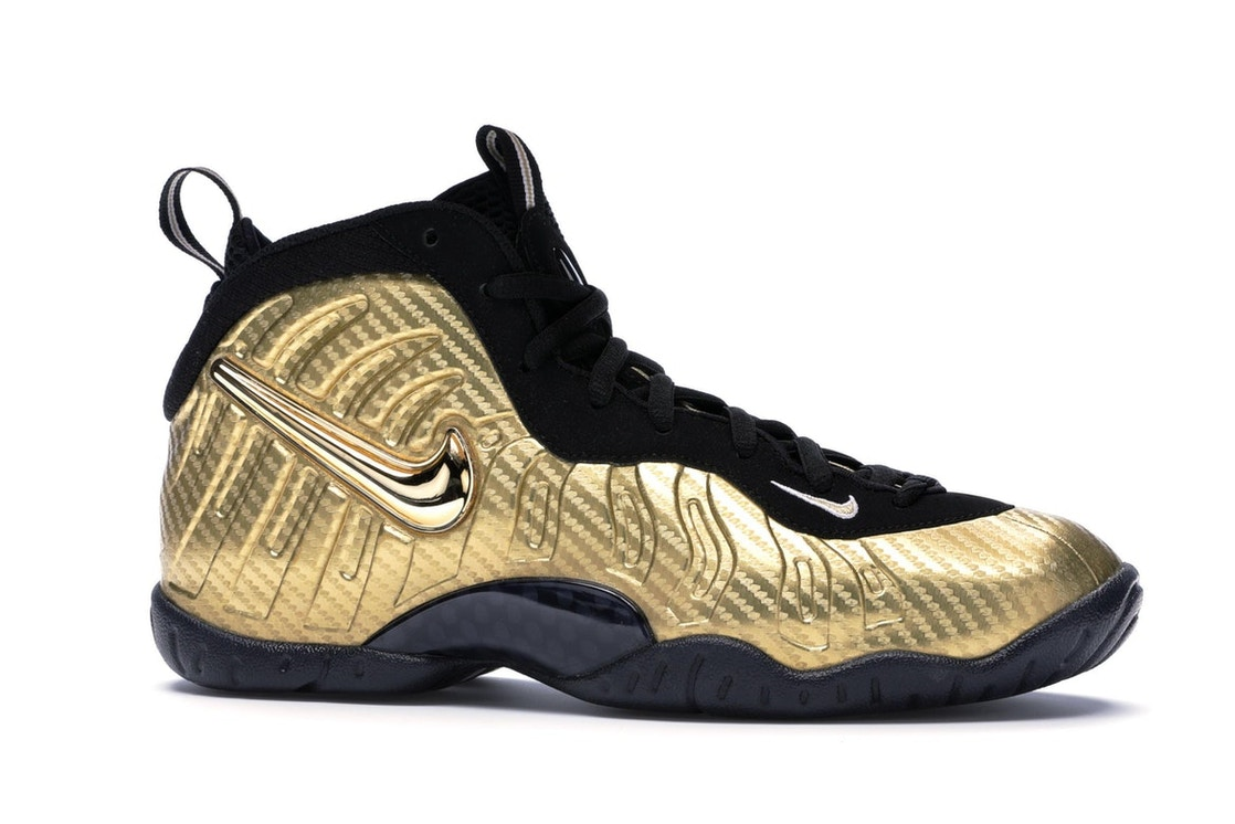 factory authentic 3f3c1 d502a Air Nike Foamposite Pro Metallic Gold (GS)