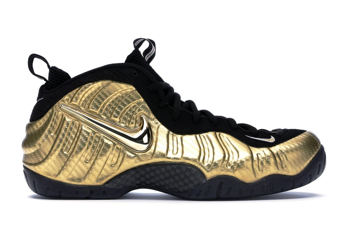 official photos d606d d6f52 Air Nike Foamposite Pro Metallic Gold - 624041-701