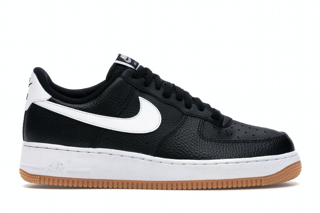 Chicle Pío Oxidado  Nike Air Force 1 '07 Black White Gum - CI0057-002