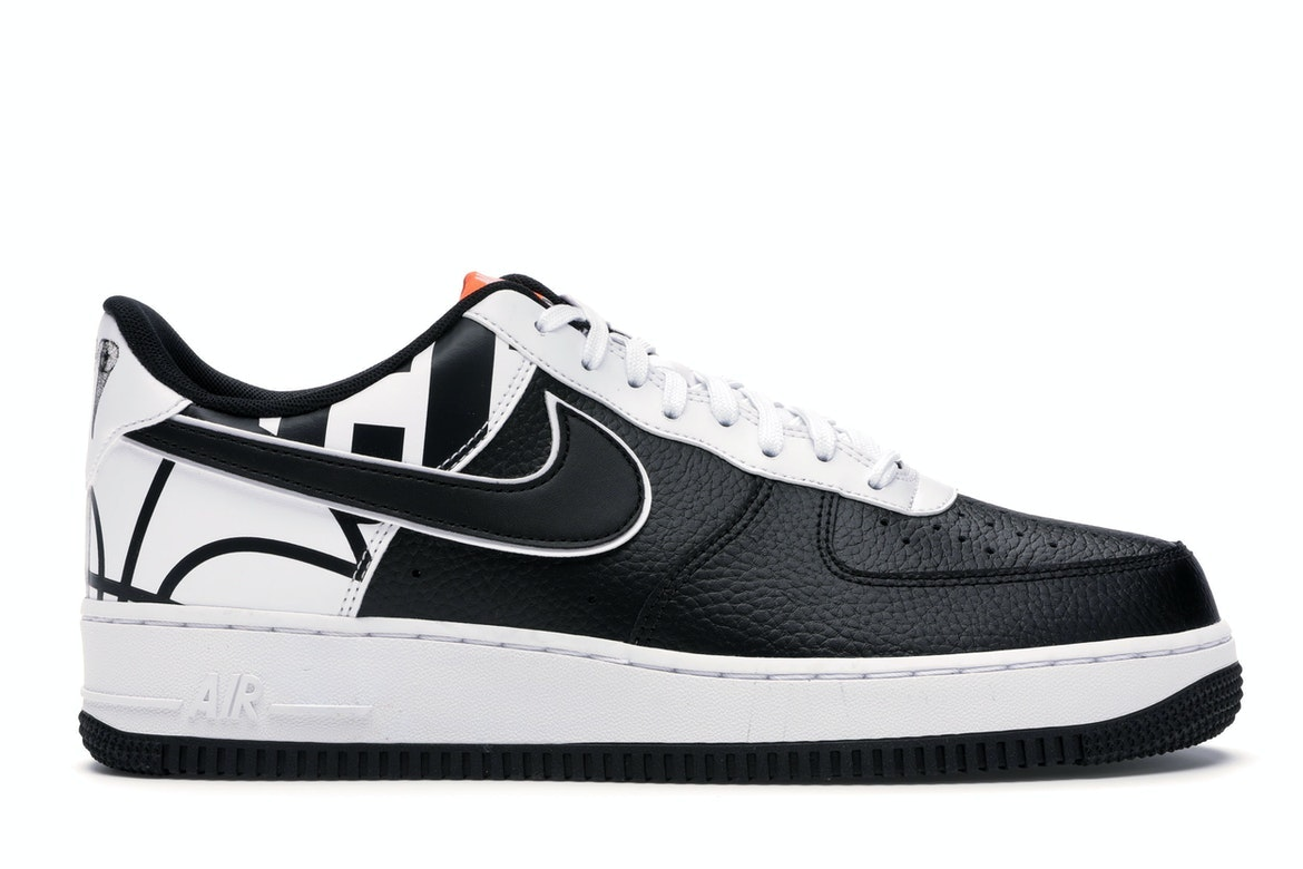 Nike Air Force 1 07 LV8 Black White For Sale