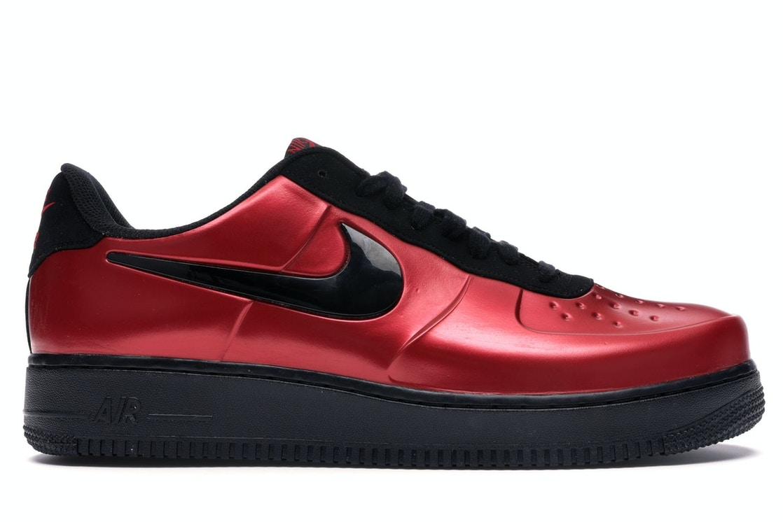 new concept 25bd8 698e7 Air Force 1 Foamposite Pro Cup Gym Red Black