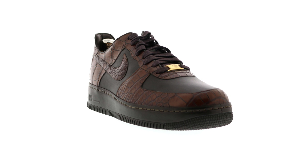 new styles afdfc 45087 Air Force 1 Low Crocodile Lux 25th Anniv - 315583-221