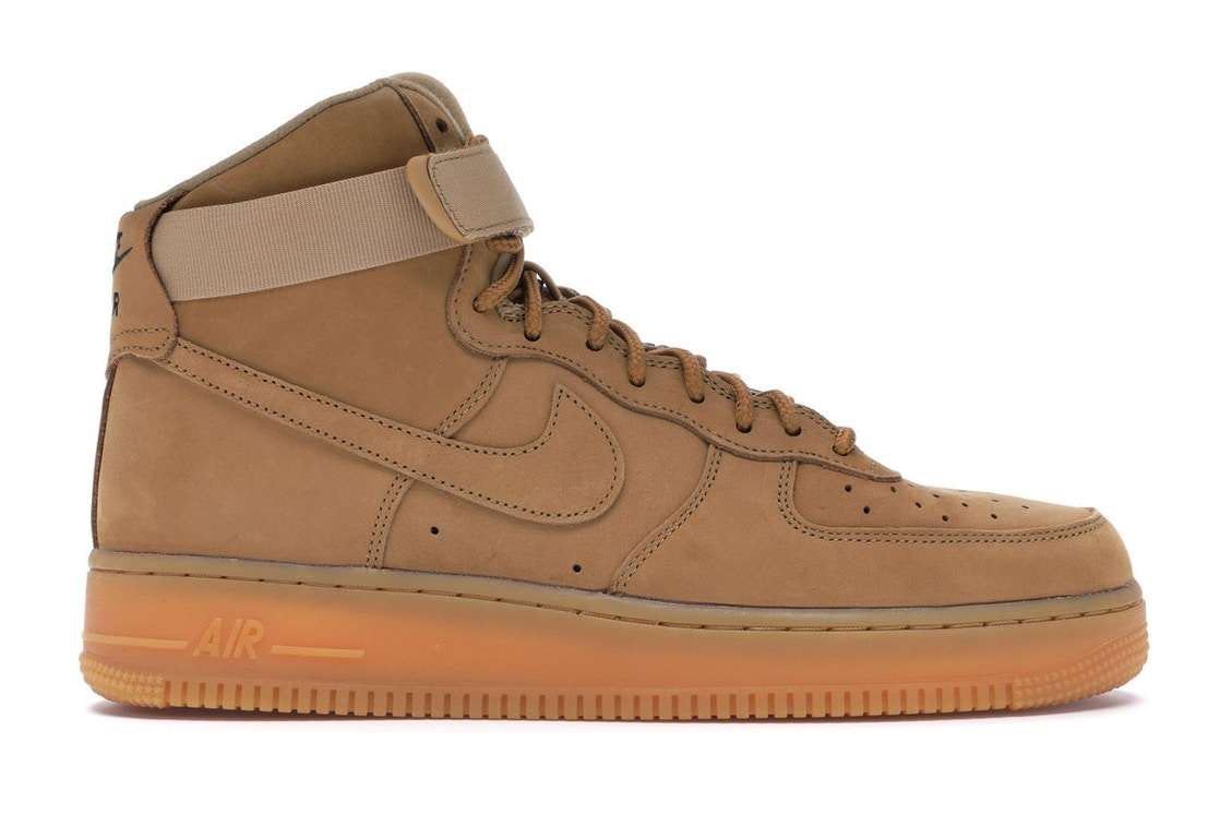 new product 2525b 7500c Air Force 1 High Flax (2017)