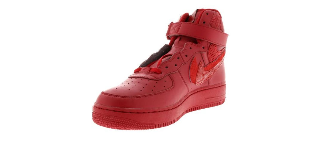 bc37349e0d nike air force 1 high misplaced checks red