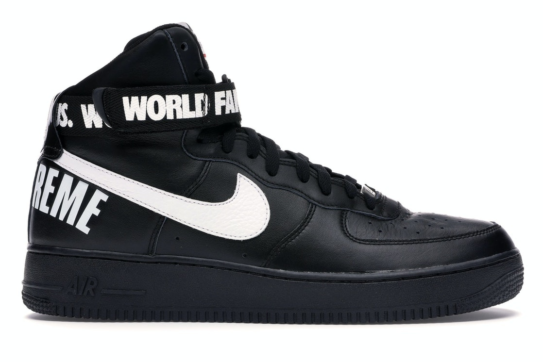 check out 7e332 17f23 Sell. or Ask. Size  11.5. View All Bids. Air Force 1 High Supreme World  Famous Black