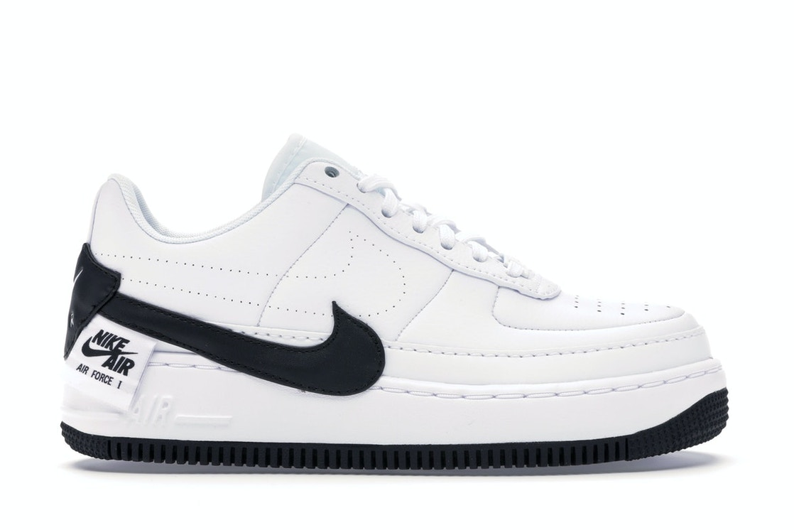 portátil césped bomba  Nike Air Force 1 Jester XX White Black (W) - AO1220-102