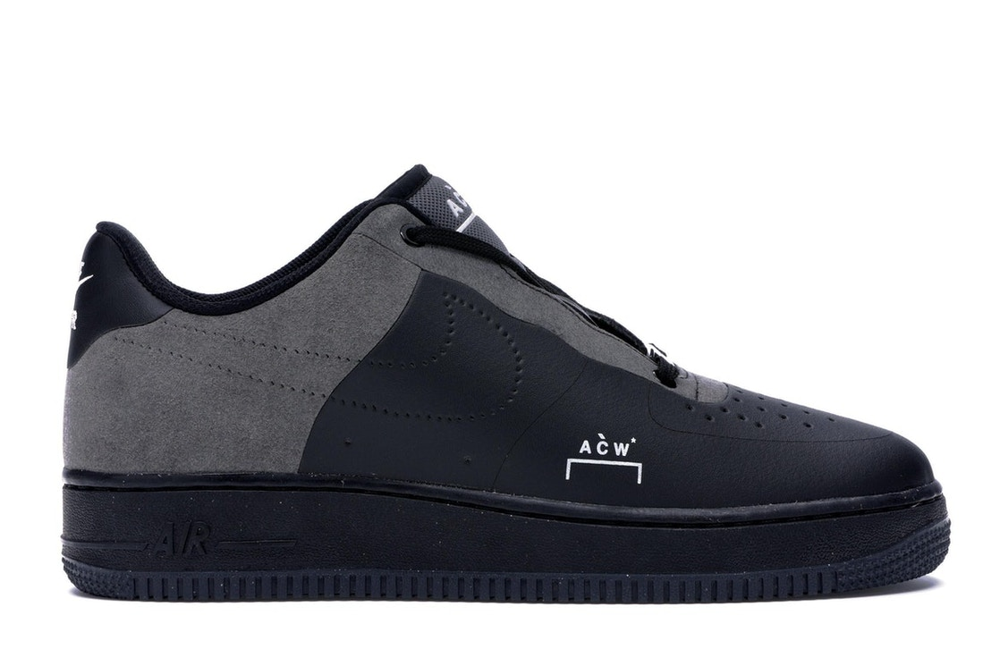 super popular 7b52c 920ec Air Force 1 Low A Cold Wall Black - BQ6924-001