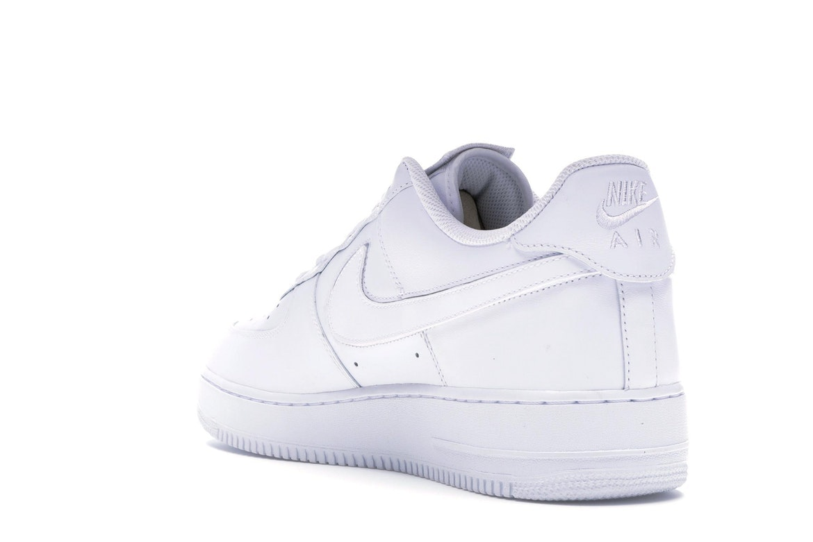 Nike Air Force 1 Swoosh Pack Sailoff White Af1 Velcro Swooshes Size 13 DS