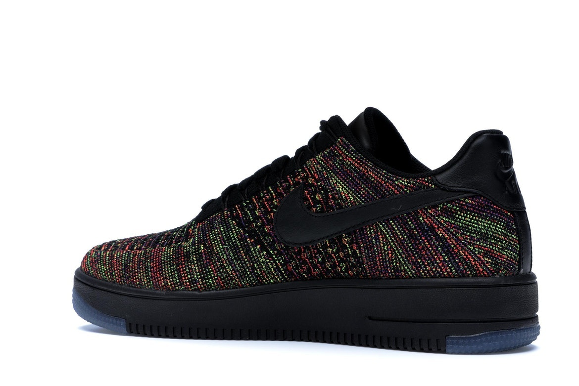 Air Flyknit Multi 1 Force Black Low Color wNnOm80v