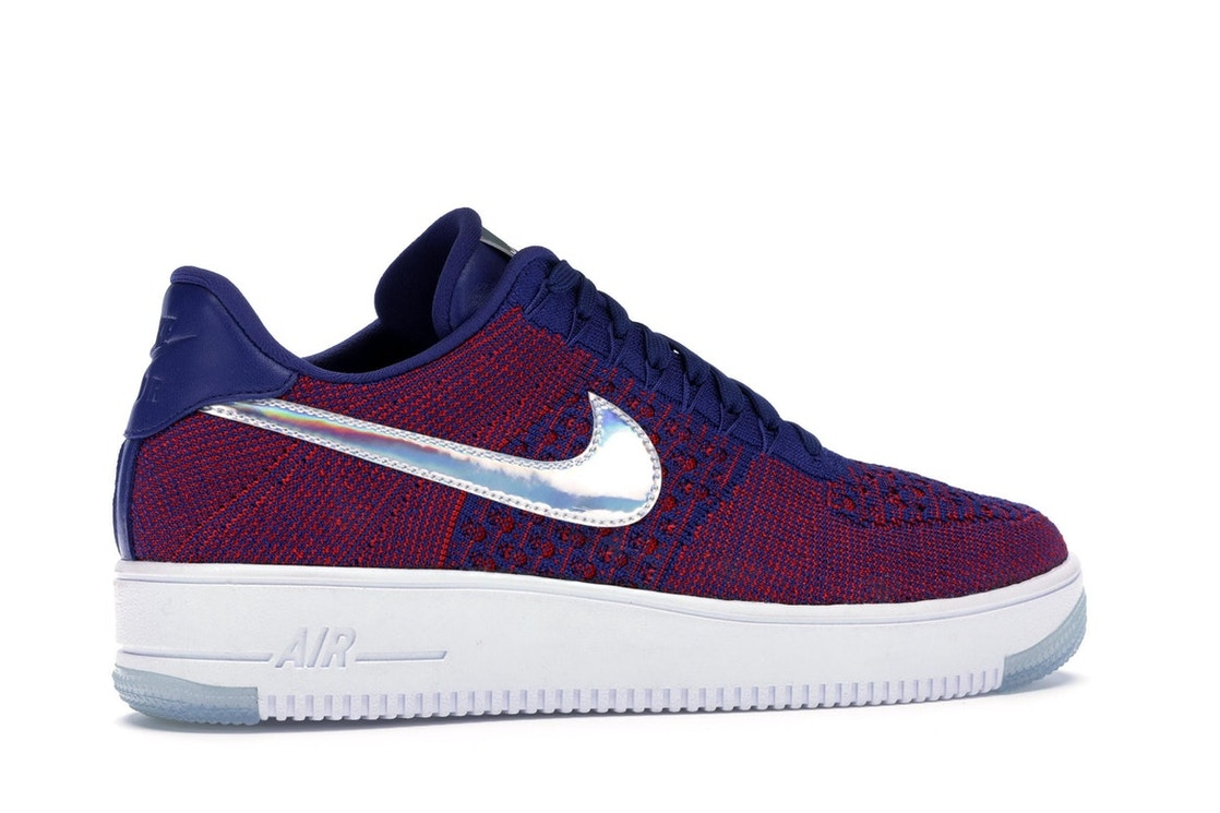 info for 0523c 58e90 Air Force 1 Low Flyknit USA - 826577-601