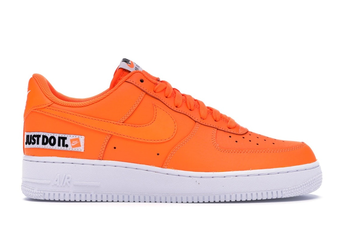 Air Force 1 Low Just Do It Pack Orange - AO6296-800 BQ5360-800 21f69f2a2