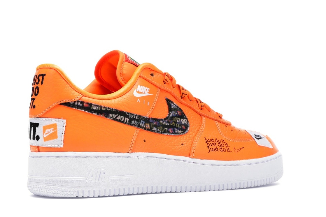819671f6b Air Force 1 Low Just Do It Pack Total Orange - AR7719-800