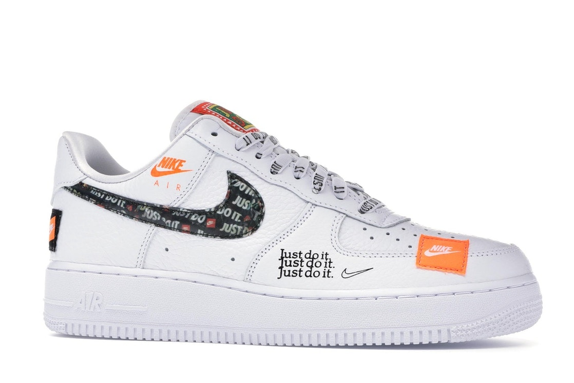 6329c8d9116f0 Air Force 1 Low Just Do It Pack White/Black - AR7719-100
