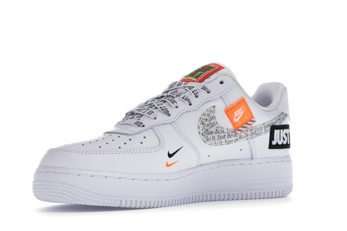 brand new 00d67 bc090 Air Force 1 Low Just Do It Pack WhiteBlack - AR7719-100