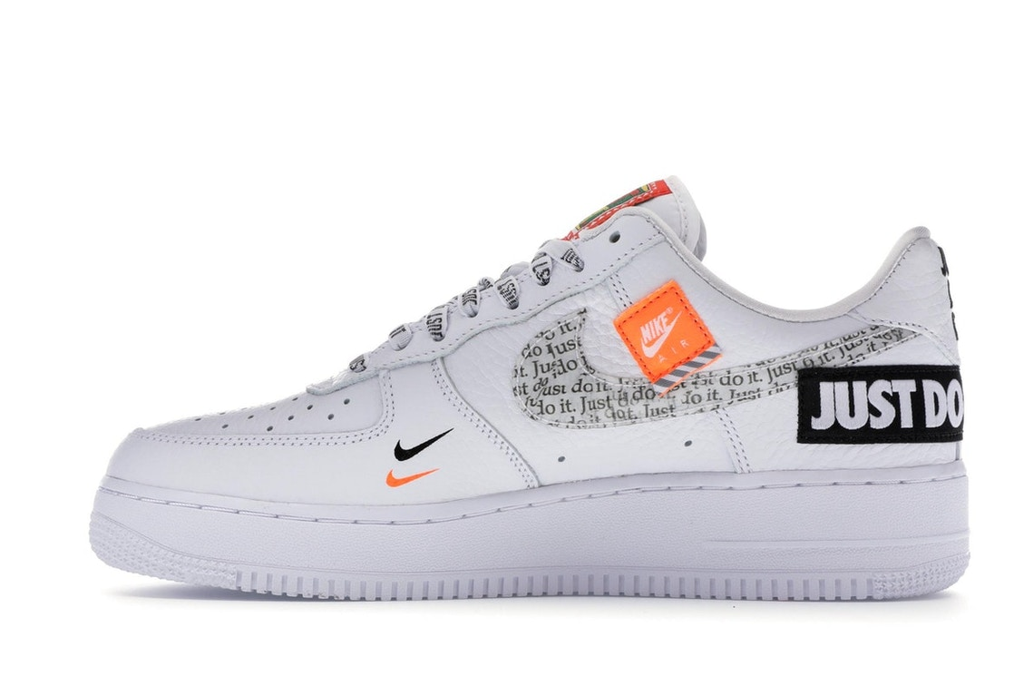first rate 5c328 3da6f Air Force 1 Low Just Do It Pack White Black - AR7719-100