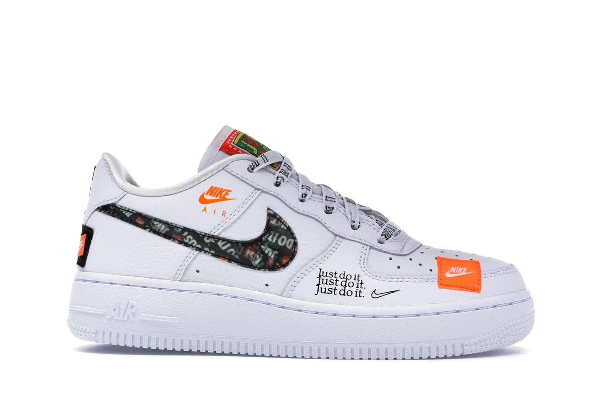 nike air force 1 premium gs just do it