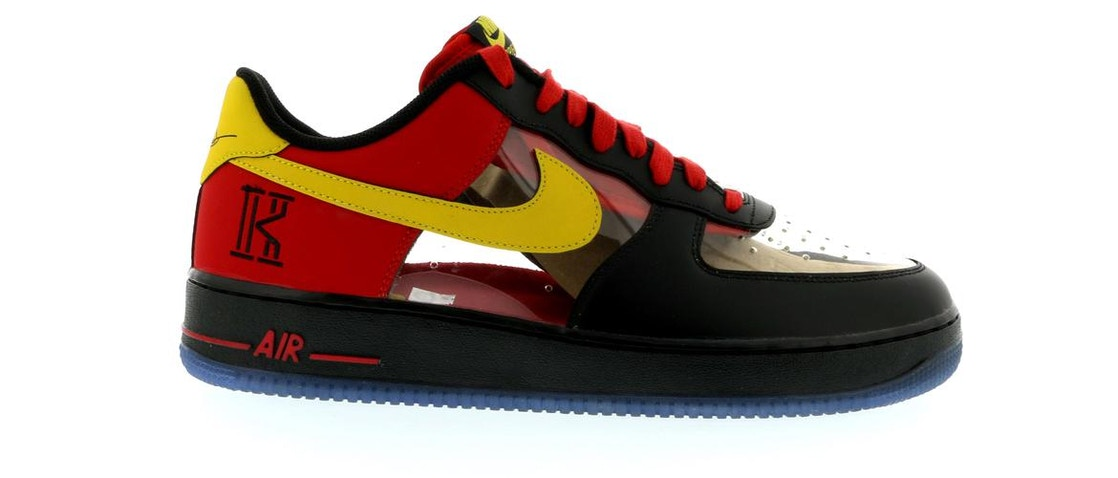 pretty nice 56b21 97995 Air Force 1 Low Kyrie Irving Black Red