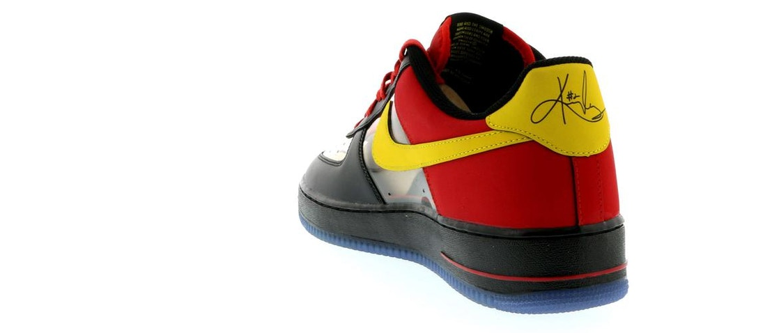 pretty nice ed77b 15fc0 Air Force 1 Low Kyrie Irving Black Red