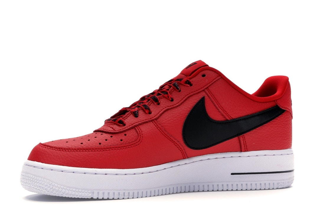 sports shoes 58eca 6f811 Air Force 1 Low NBA University Red - 823511-604
