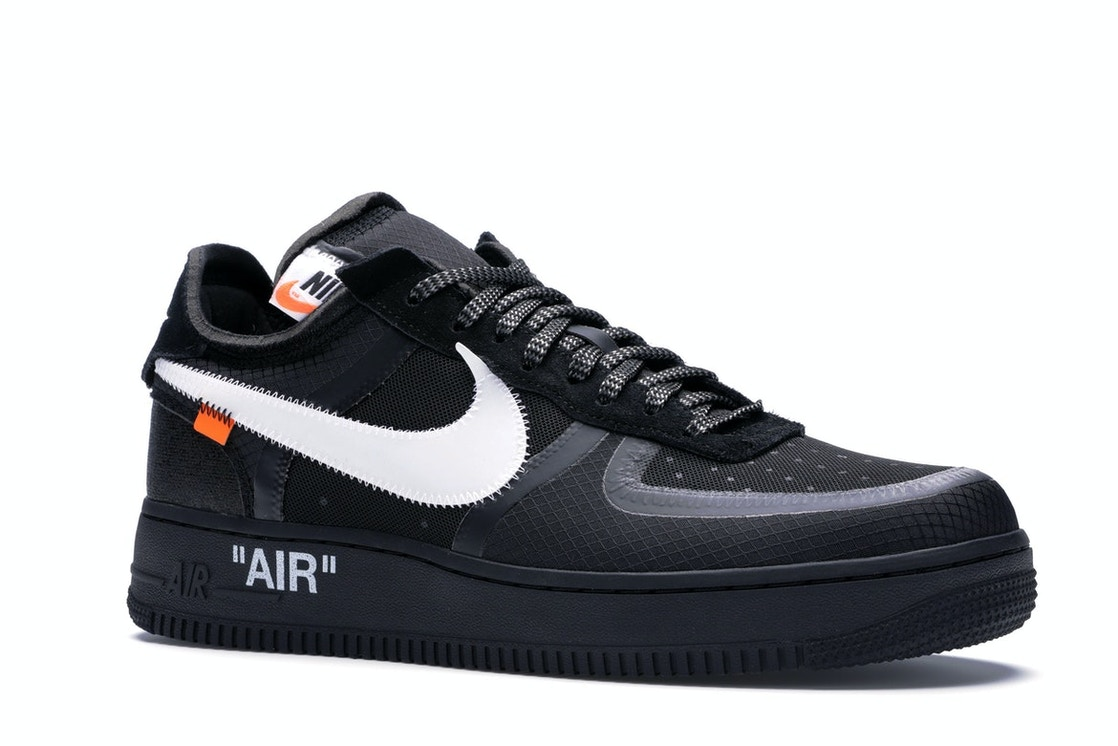 92beac5582c Air Force 1 Low Off-White Black White - AO4606-001