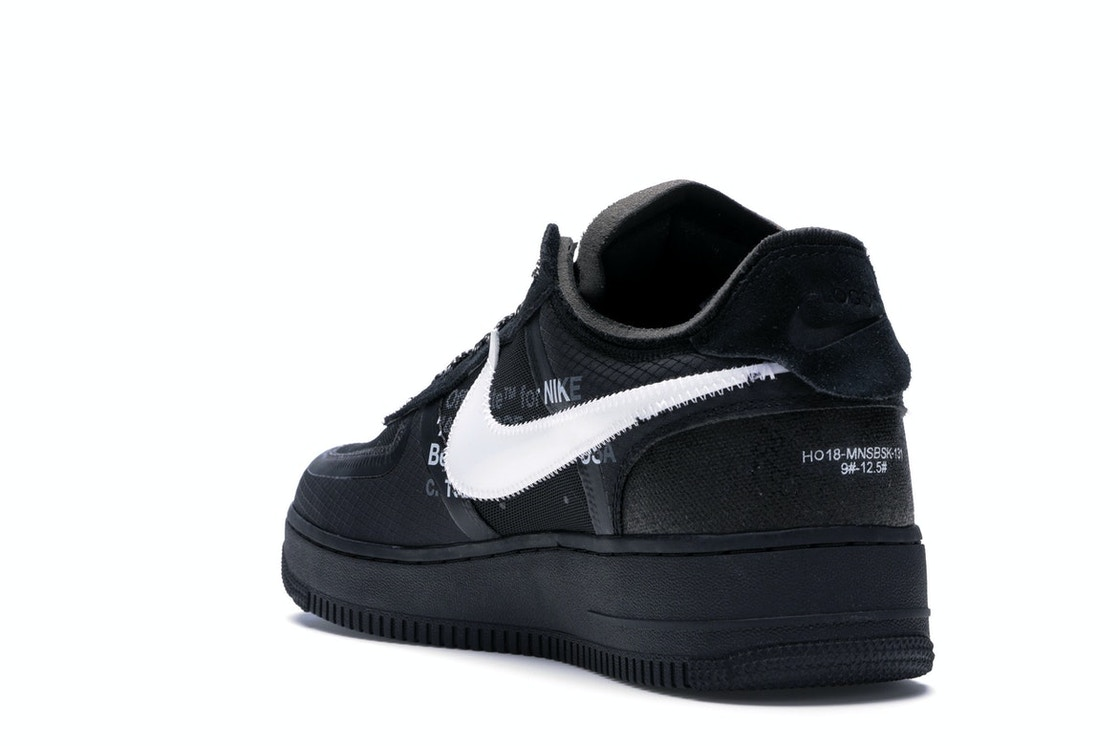 Air Force 1 Low Off-White Black White - AO4606-001 f23923825834