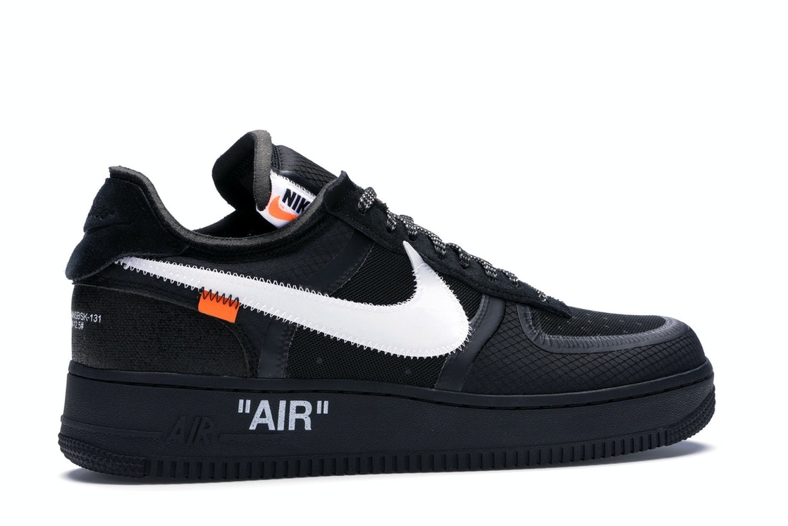 Aproximación conjunto Desaparecido  Nike Air Force 1 Low Off-White Black White - AO4606-001