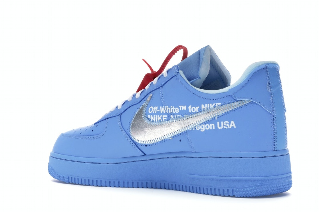 graduado subterraneo Walter Cunningham  Nike Air Force 1 Low Off-White MCA University Blue - CI1173-400