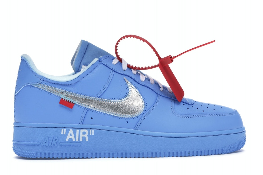 huge discount 5e9ce a360c Air Force 1 Low Off-White MCA University Blue